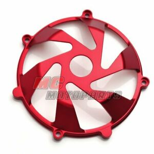 Red For Ducati Billet Clutch Cover For Monster S4R 620 750 900 800 1000 CC15