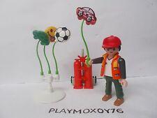 PLAYMOBIL. TIENDA PLAYMOXOY76. FIGURA DE VENDEDOR AMBULANTE DE GLOBOS.