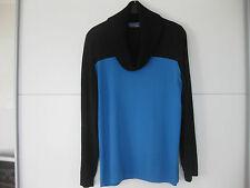 Pullover von Selection bei Ulla Poppken Gr. 44 Neuw.NP-69€ schwarz blau