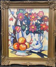 More details for 1950s  scottish colourist impressionist oil painting / panel signed j.d.ferguso