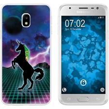 Samsung Galaxy J3 2017 Custodia in Silicone Retro Wave M2 Case Case