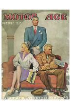 New Hot Rod Poster 11x17 October 1947 Motor Age Classic Car Cover