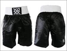 Koxx Rumble Riding/Kick Boxing Short Bike Trials 100% Polyester Black/White