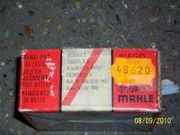 NOS KIT SEGMENTOS MAHLE DIAMETRO 65 MM STD RENAULT R8 / R6 ( - 75 )