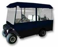 4 Person Driving Golf Cart Cover, Navy Blue, Brand New