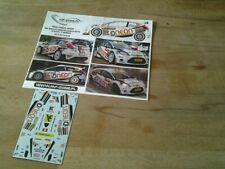 Decalc FORD FIESTA S2000 Rally de MONTE CARLO 2014 # 38 O.BURRI