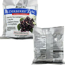 Zand Herbalozenge, Sweet Elderberry Zinc, 15 Count