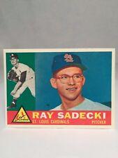 1960 Topps #327 Ray Sadecki Card St. Louis Cardinals