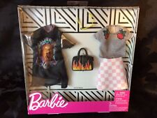Barbie 2-outfit Fashion Pack Rock Band New In Box