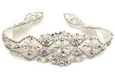 Stunning Beautiful Crystal Bridal Sash-Rhinestone Wedding Dress Belt-Bridal Sash