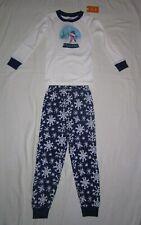 Nite Nite Munki Munki Boys/' Short Sleeve  Eggstra Sleepy Pajama Set Blue Small