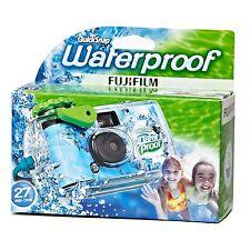 Fujifilm Quicksnap Marine 800 Einzelgebrauch Kamera für 27 Bilder Wasserdicht