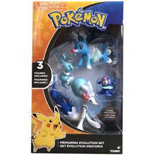 "Pokemon Monster 6"" Primarina 2.5"" Brionne 2"" Popplio Action Figure In Box"
