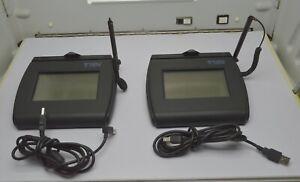 Topaz Systems T-LBK750-BHSB-R Electronic Signature Capture Pad