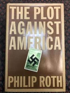 The Plot Against America Novel Philip Roth Book Hardcover Alternate History + DJ