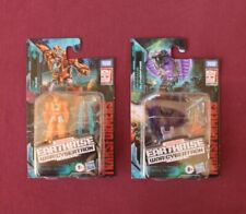Lot of 2 Rung (WFC-E14) & Slitherfang (WFC-E13) Transformers War for Cybertron