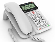 BT Decor 2600 Advanced Call Blocker Corded Telephone with Answer Machine Call ID
