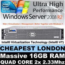 DELL PowerEdge 2950 TWIN Quad Core 2x 2.33GHZ E5345 16 GB Ram 146 GB RAID PERC 5i