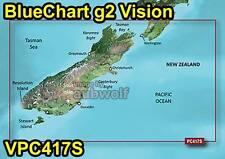 Garmin BlueChart g2 Vision VPC417S New Zealand South