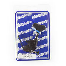 Hipshot Bass Shaller M4 Mini Xtender detuning Drop D-Tuner - TREBLE SIDE - BLACK