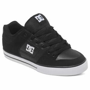 DC Shoes Homme Pure M Sneaker Shoes Noir Kicks Baskets SPORTS Chaussure Vêtement