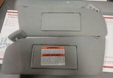 04 07 Ford F150 F 150 Sun Visor Set Pair RH LH Gray OEM Shades