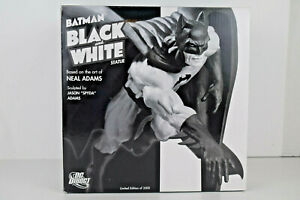 Batman Black and White Statue Neal Adams DC Collectibles NIB  #3120 of 3500