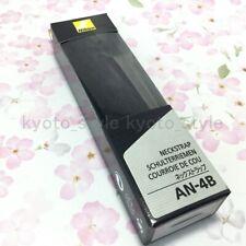Nikon Cuello Correa Negra AN-4B trenzado para SLR Japón