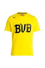 Puma T-Shirt, Borussia Dortmund, BVB, Gr. L, Regular Fit, gelb/schwarz