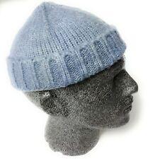 Knitted fisherman trawler Skully beanie Hat Vintage Docker skull beanie cap