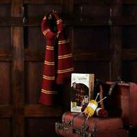 Harry Potter Gryffindor Scarf Knitting Set Officially Licensed