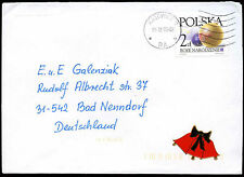 Poland 2002 Cover To Germany #C21196