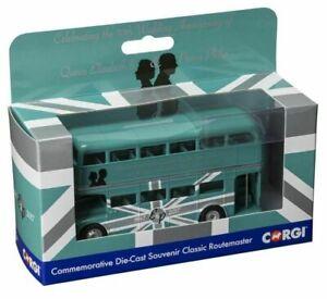 Corgi Bus 82327CC 70th Anniversary of HM Queen Elizabeth II and HRH Prince  1/76