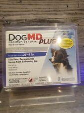 Dog Md Plus Treats Flea, Lice & Tick Infestations, 6 Month Supply 6 applicators