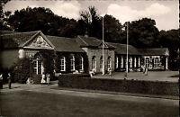 Bad Driburg Westfalen Teutoburger Wald 1958 Stempel Bahnpost Trinkhalle Kur