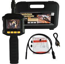 Periscopio endoscopio sonda con schermo LCD + luce.Impermeabile ispezione tubi
