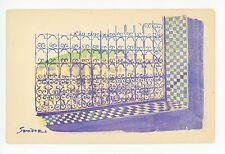 Beautiful SANDOZ North-African Art CPA Mahgreb—Morocco Tunisia Algeria 1920s