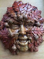 Acorn Imp Plaque by Summerisle, Greenman, green woman, lady, wiccan, pagan