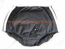 Ladies/Girls GYMPHLEX BLACK School/Gym Knickers/Briefs Size L (28-34W) NEW 07/04