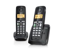 Telefono inalambrico dect DUO Gigaset A220 negro. Manos libres, Eco Mode Plus.