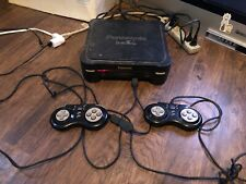 Panasonic 3DO FZ1 Console with Turbo controllers