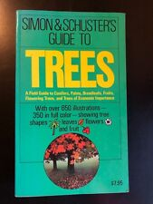 Simon & Schuster's Guide to TREES Field Guide Conifer Broadleaf Palm Fruits, etc