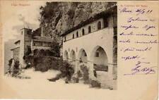 Cartolina Autografo di Carlo Nigra Architetto Borgo Medievale Torino Stresa 1899