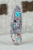 Corn Maiden Zuni Fetish Carving - Sandra Quandelacy