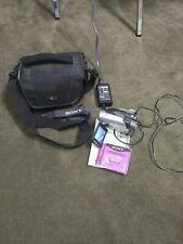 SONY DCR-DVD92 Handycam Camcorder~Charger & Bag TESTED