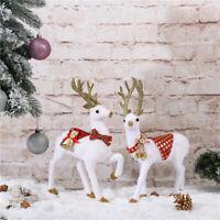 Resin Christmas Deer Reindeer Craft Elk Xmas Home Tree Decor Ornament Supply