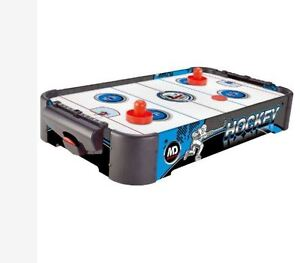 MD SPORTS 24 INCH AIR POWERED HOCKEY TABLE GAME FOR KIDS NEW IN BOX!