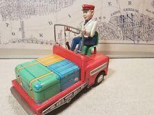 B-Z PORTER Airport Luggage BO  Masudaya Modern Toys Japan -Restore/display/Spare