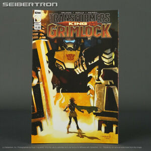 Transformers KING GRIMLOCK #1 Cvr A IDW Comics 2021 JUN210455 1A (CA) Nord