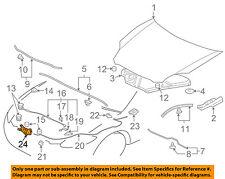 MITSUBISHI OEM 2012 Eclipse Hood-Latch Lock Release 5908A121